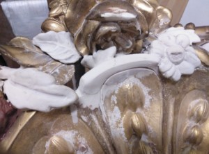 curso de restauración de pan de oro