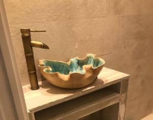 pieza hecha en el curso de ceramica