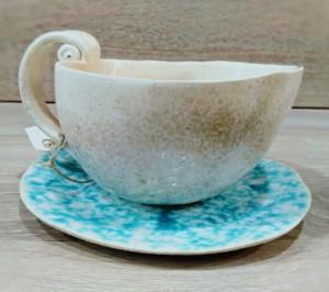 taza hecha en el curso de ceramica