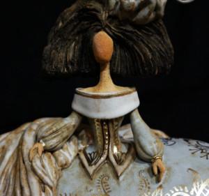 figura de cerámica artística