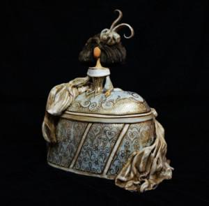 menina de cerámica