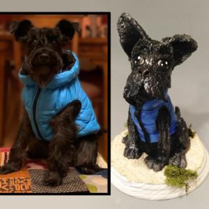 1 perro modelado de cerámica clases de cerámica