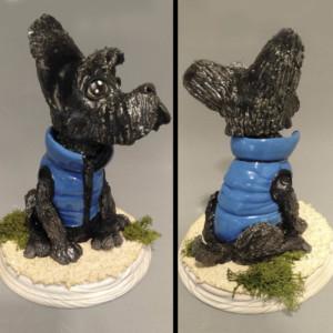 perro de ceramica curso de cerámica artística