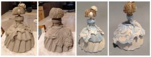 proceso clases de cerámica Madrid