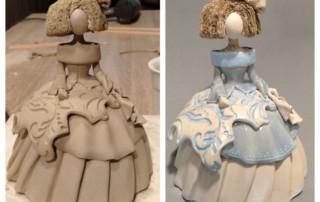proceso cerámica artística menina taller de cerámica