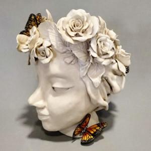 cabeza taller de cerámica