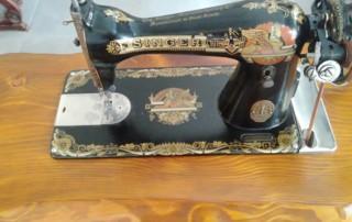 3-maquina de coser curso de restauración de muebles